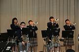 粟野中学校吹奏楽部演奏会